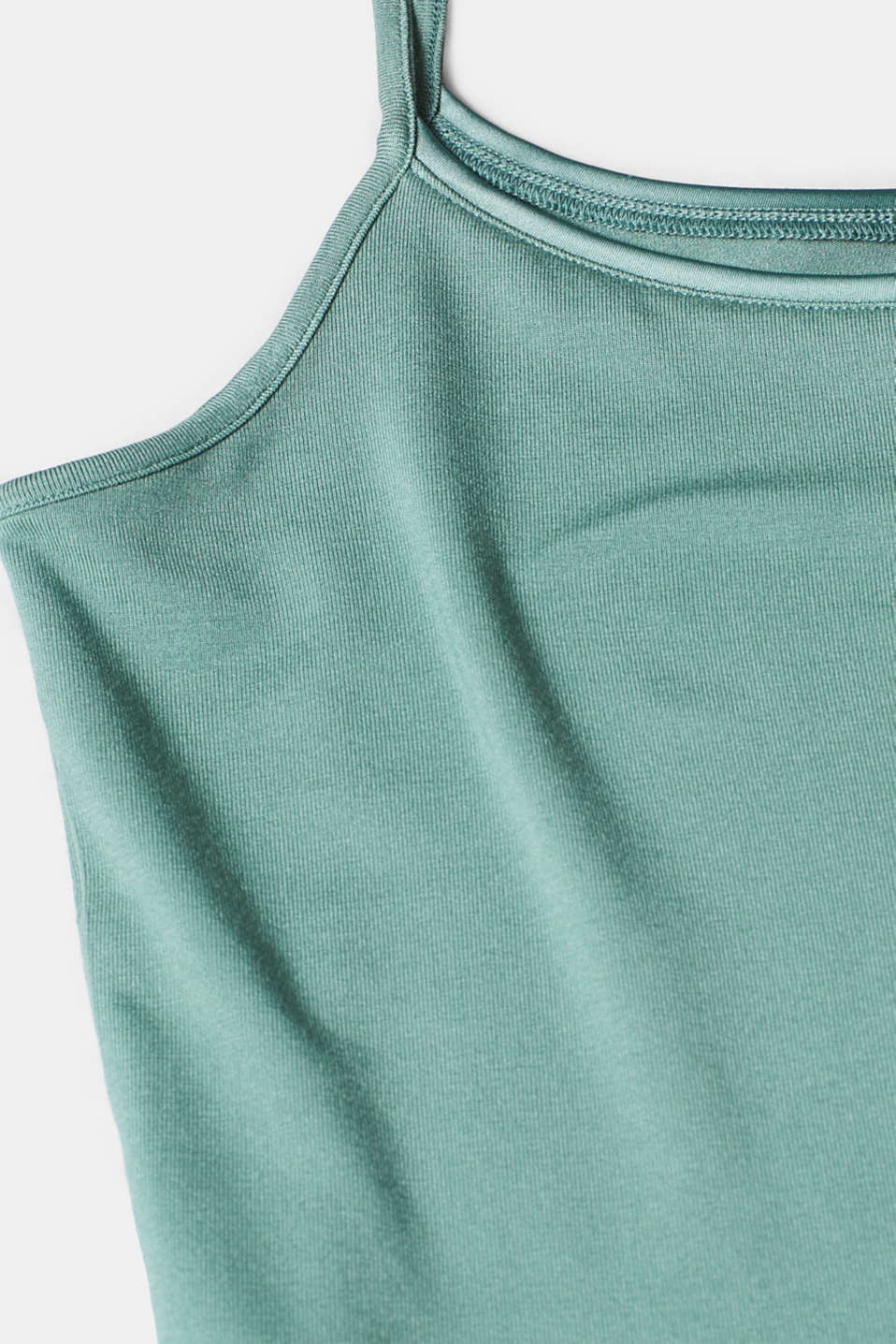 T-Shirts, DUSTY GREEN, detail image number 4