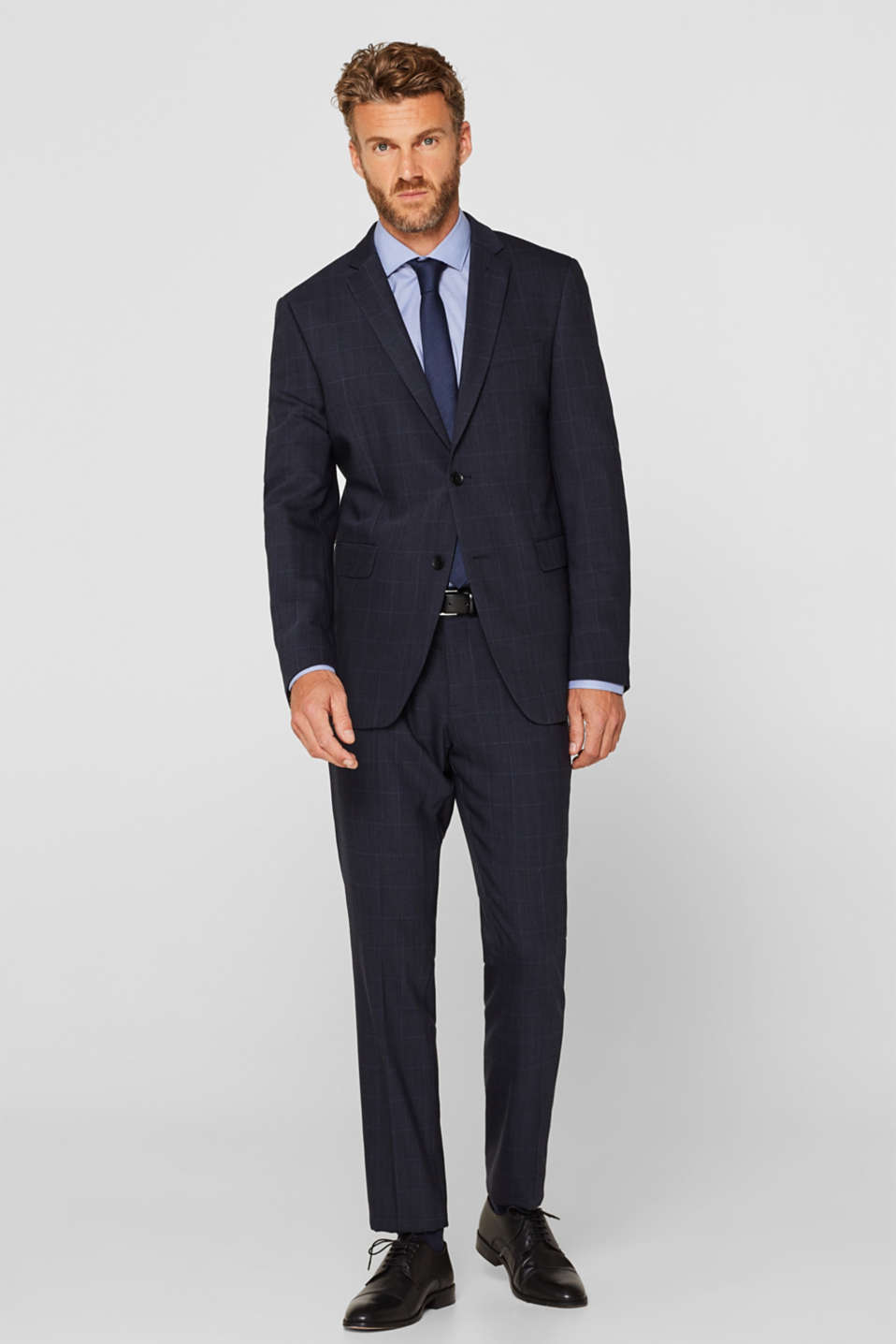 Blazers suit, DARK BLUE, detail image number 1