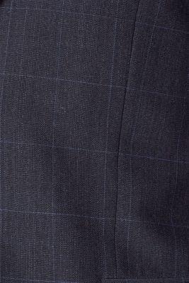 GRID Mix+Match: sports jacket with wool, DARK BLUE, detail
