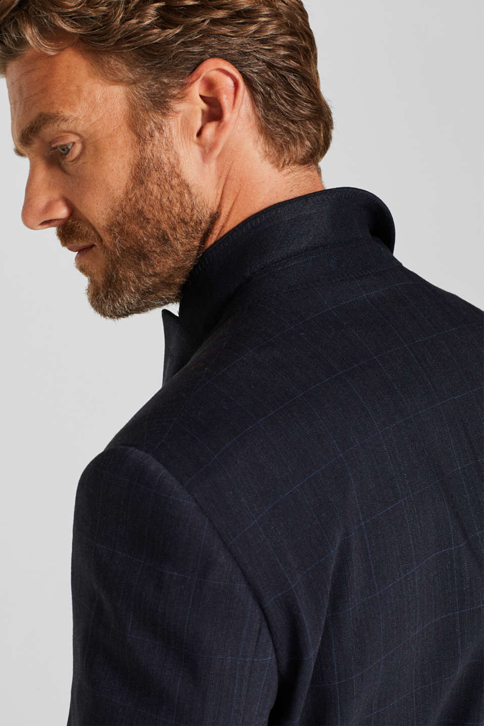 GRID Mix+Match: sports jacket with wool, DARK BLUE, detail image number 5