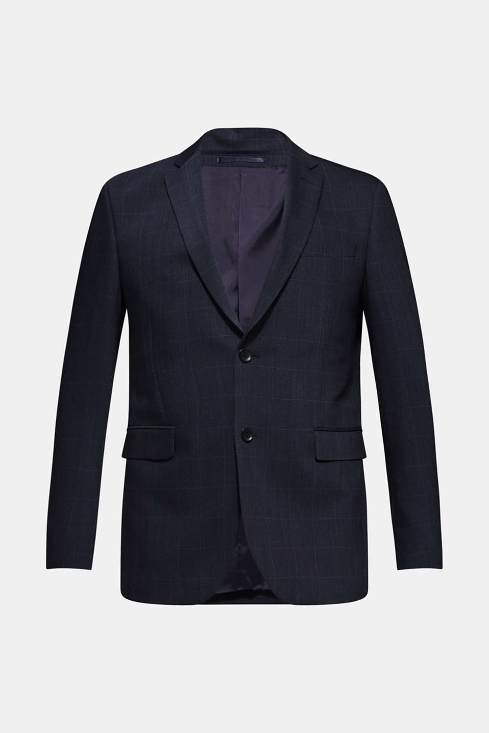 GRID Mix+Match: sports jacket with wool, DARK BLUE, detail image number 6