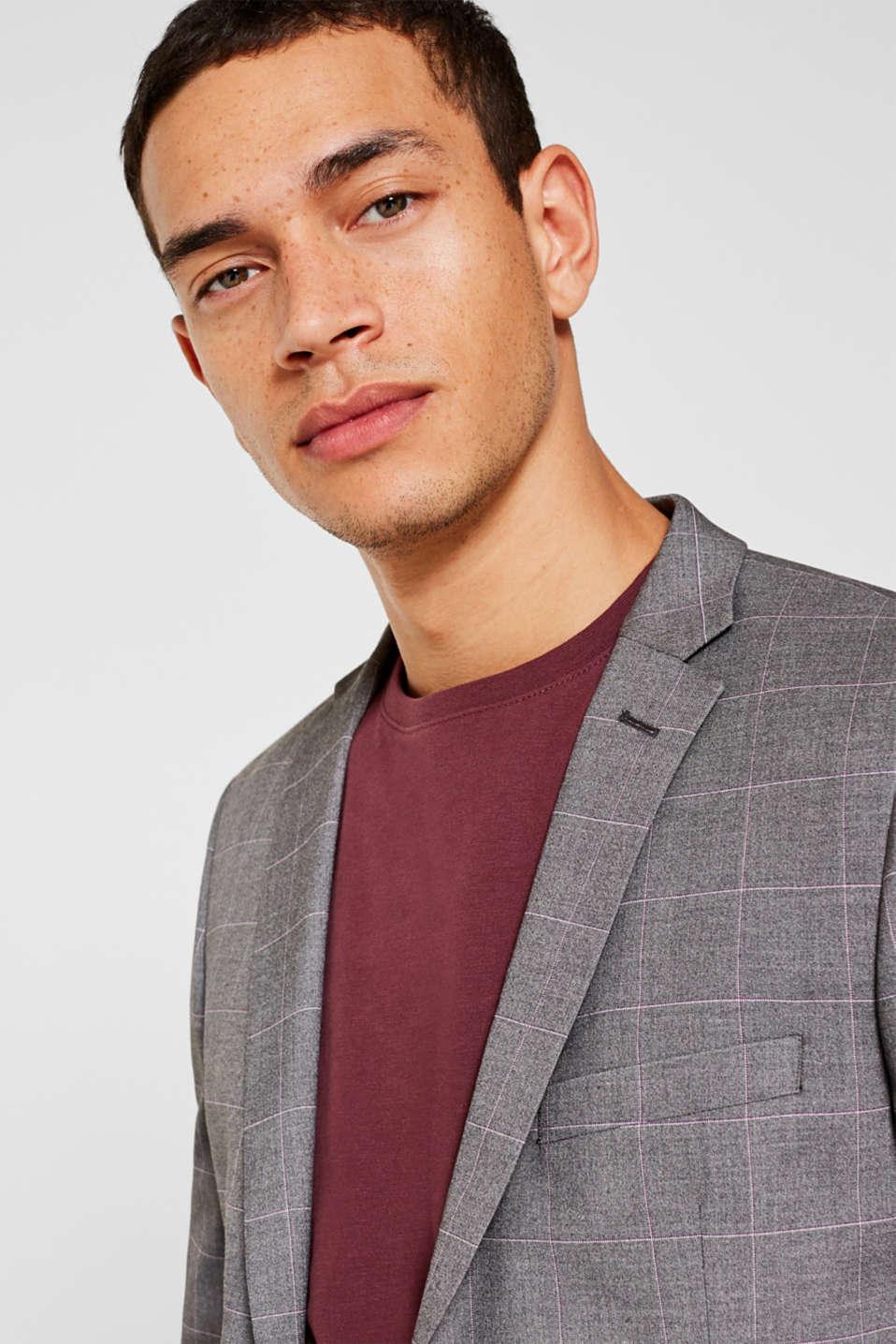 Blazers suit, GREY, detail image number 6