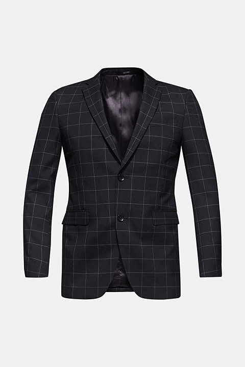 GRID mix + match: Jacket with a grid pattern