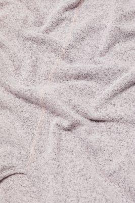 Melange sweatshirt with organic cotton