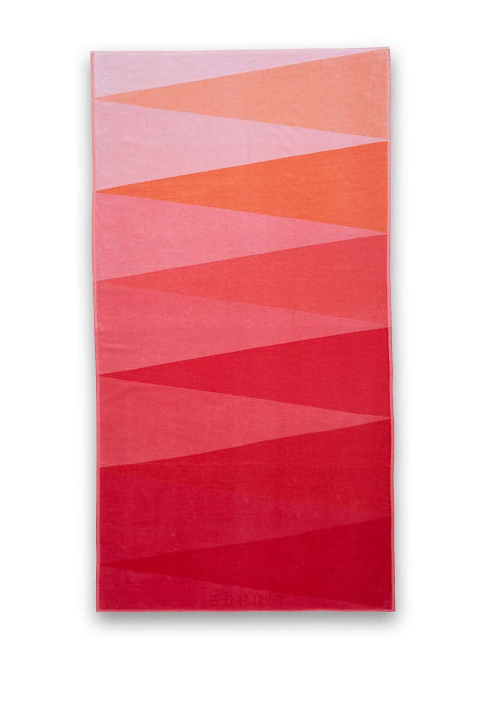 Esprit - Triangle graduated colour beach towel
