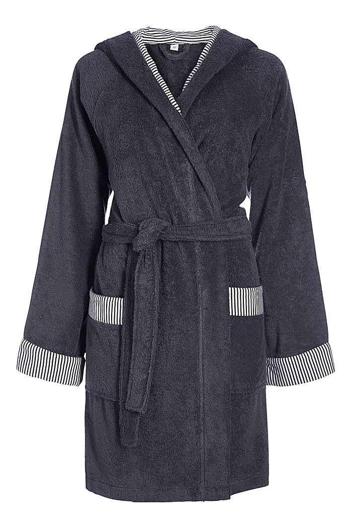 Bathrobes, ANTHRACITE, detail image number 2