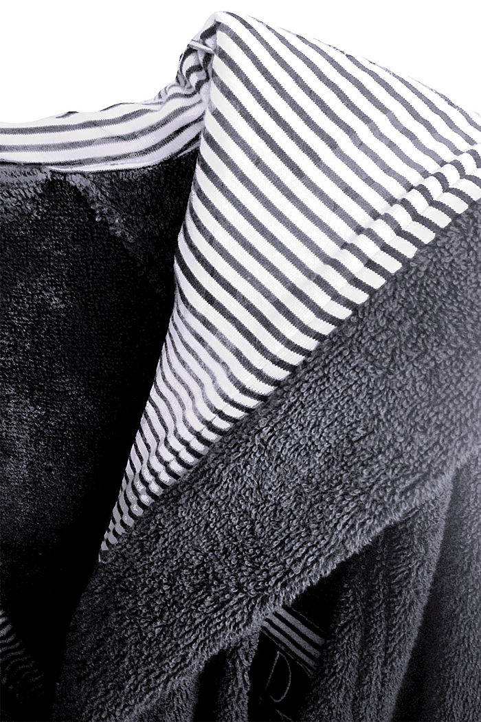 Bathrobes, ANTHRACITE, detail image number 1