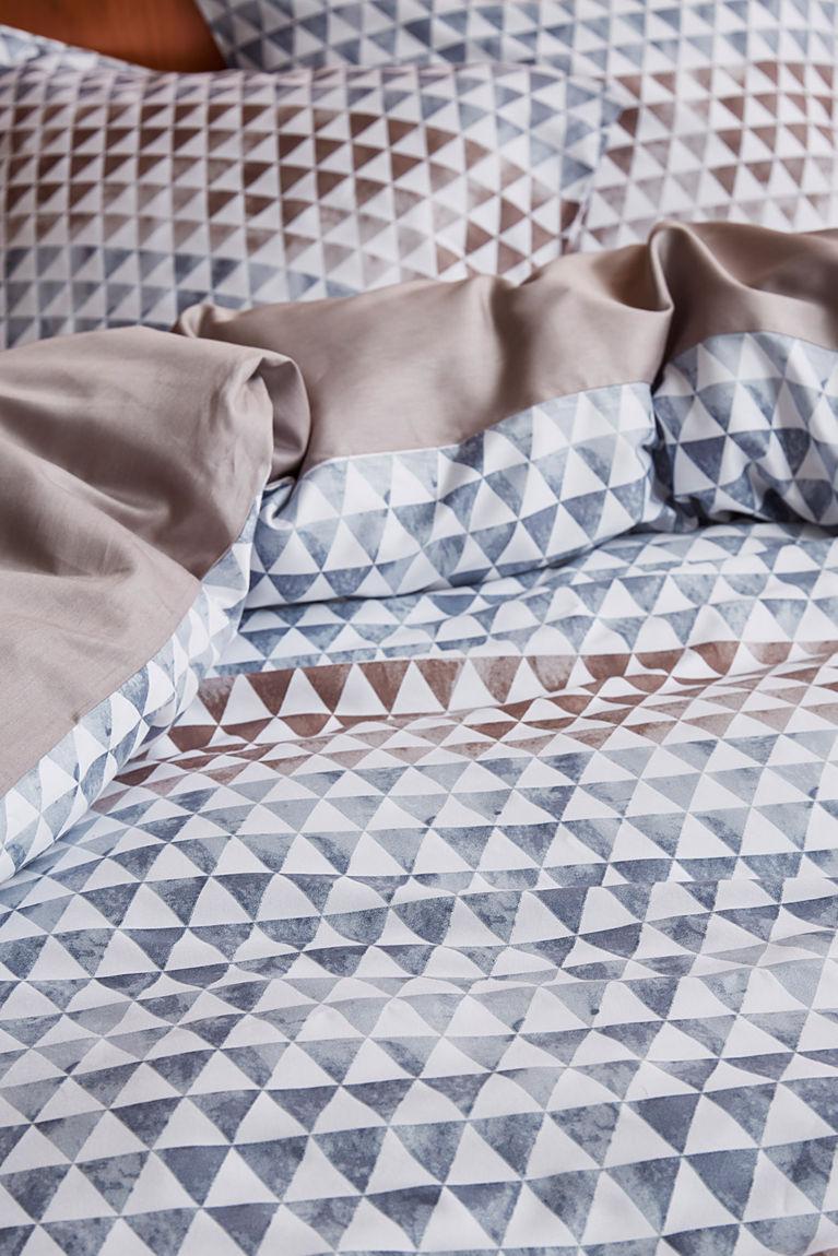 Bettwäsche-Set Yelka aus Baumwollsatin