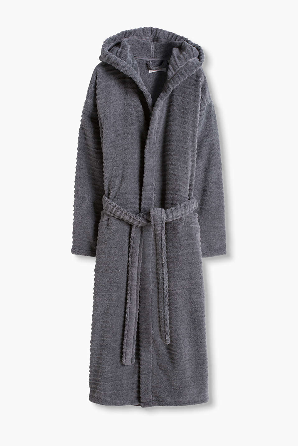 Esprit - luxe dressing gown, 100% cotton