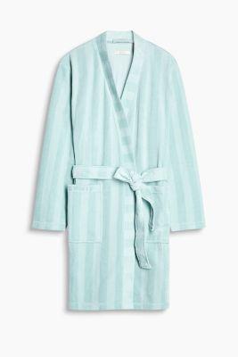 Dinah kimono in blended cotton, MINT, detail