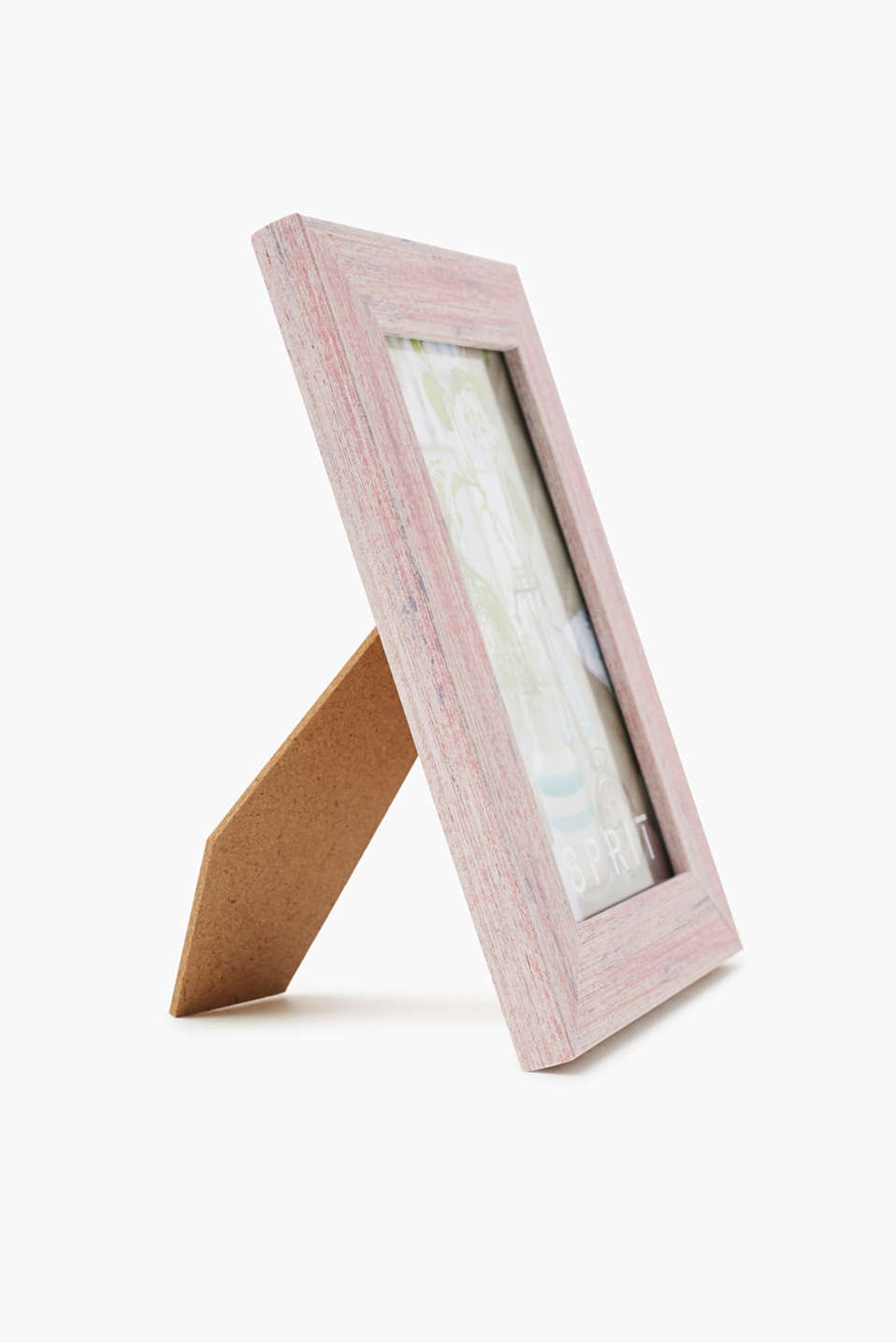 Painted wooden picture frame, PINK, detail image number 2