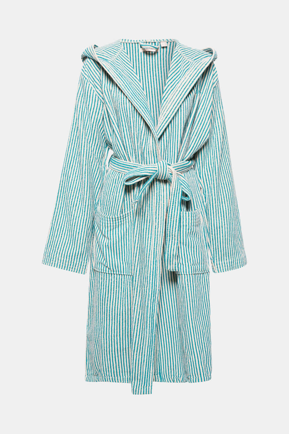 Esprit - Terrycloth bathrobe in 100% cotton