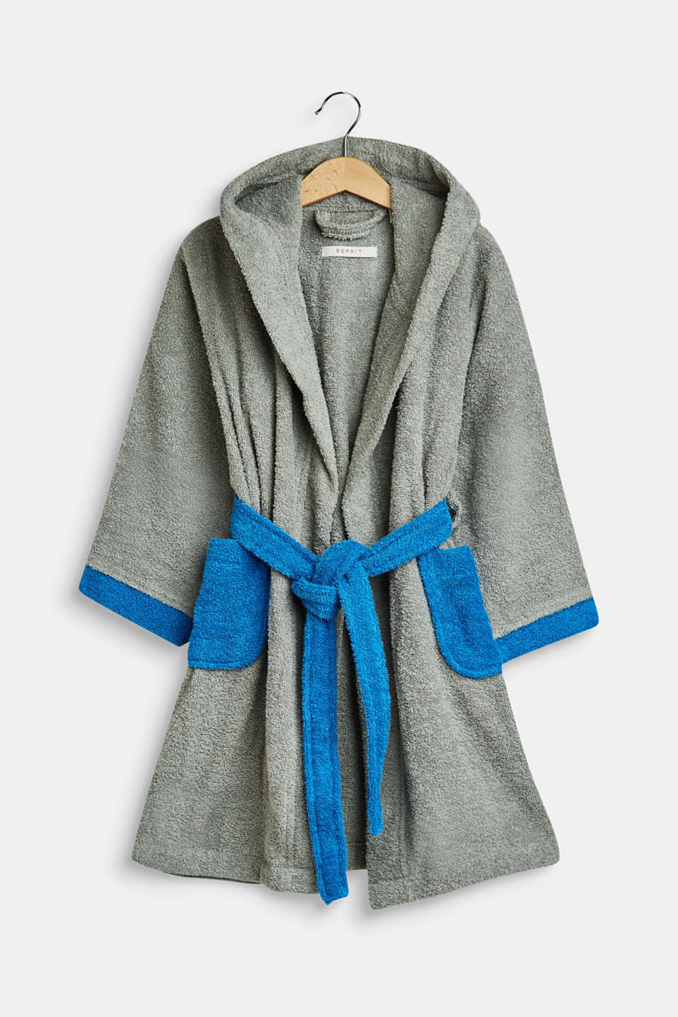 Bathrobes, GREY/BLUE, detail image number 0