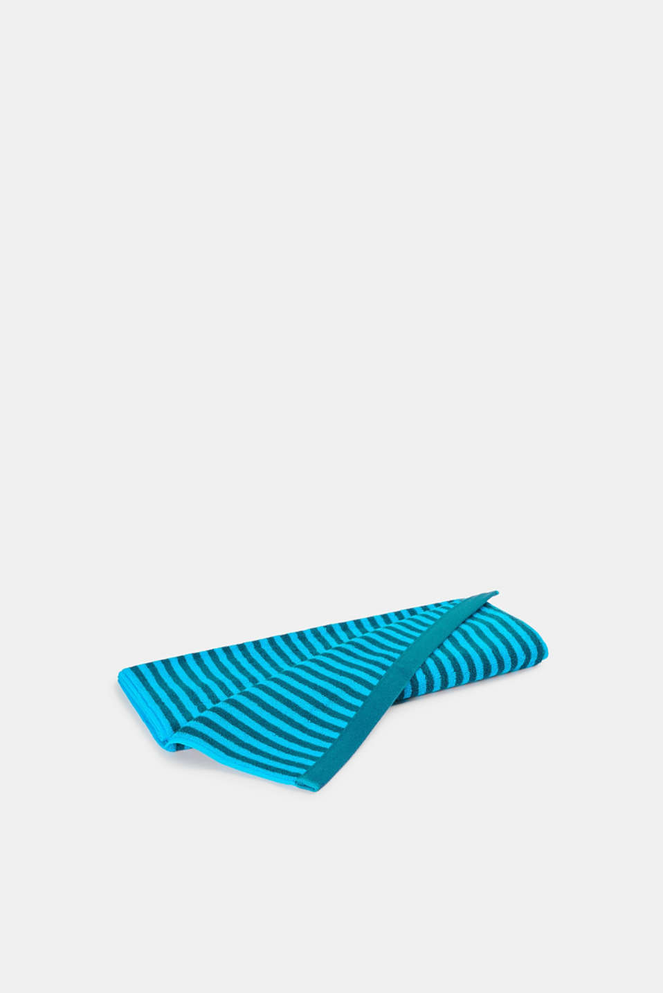 100% cotton hand towel, TURQUOISE, detail image number 2