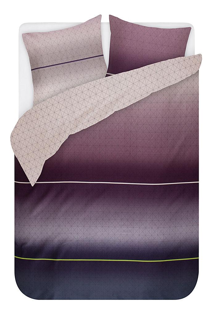 Satin-Bettwäsche aus 100% Baumwolle, LCVIOLETT, detail image number 0
