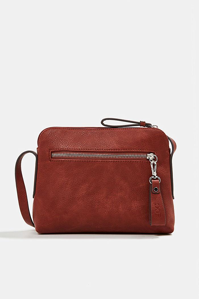 Vegan: faux leather shoulder bag