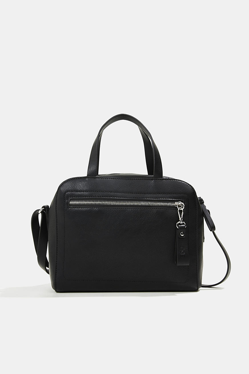 Vegan: City-Bag in Leder-Optik