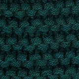 Recycled: textured knit pattern, DARK TEAL GREEN, swatch