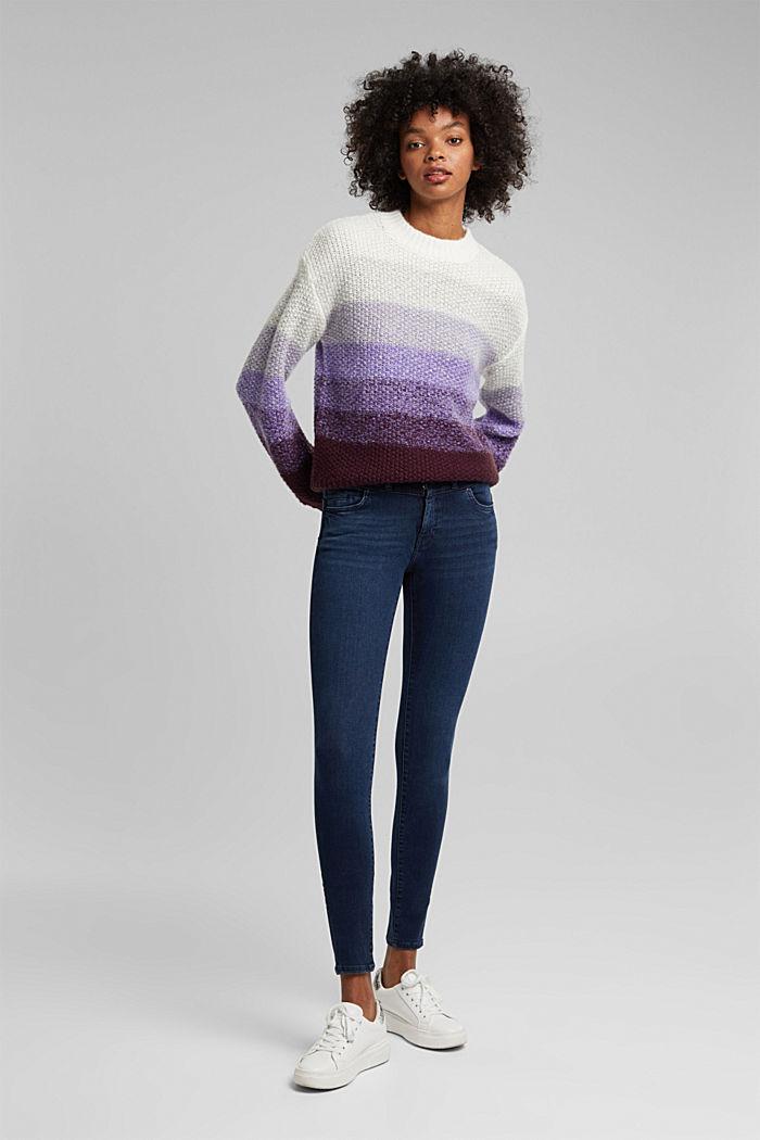 Stretch-Jeans mit Organic Cotton, BLUE BLACK, detail image number 0