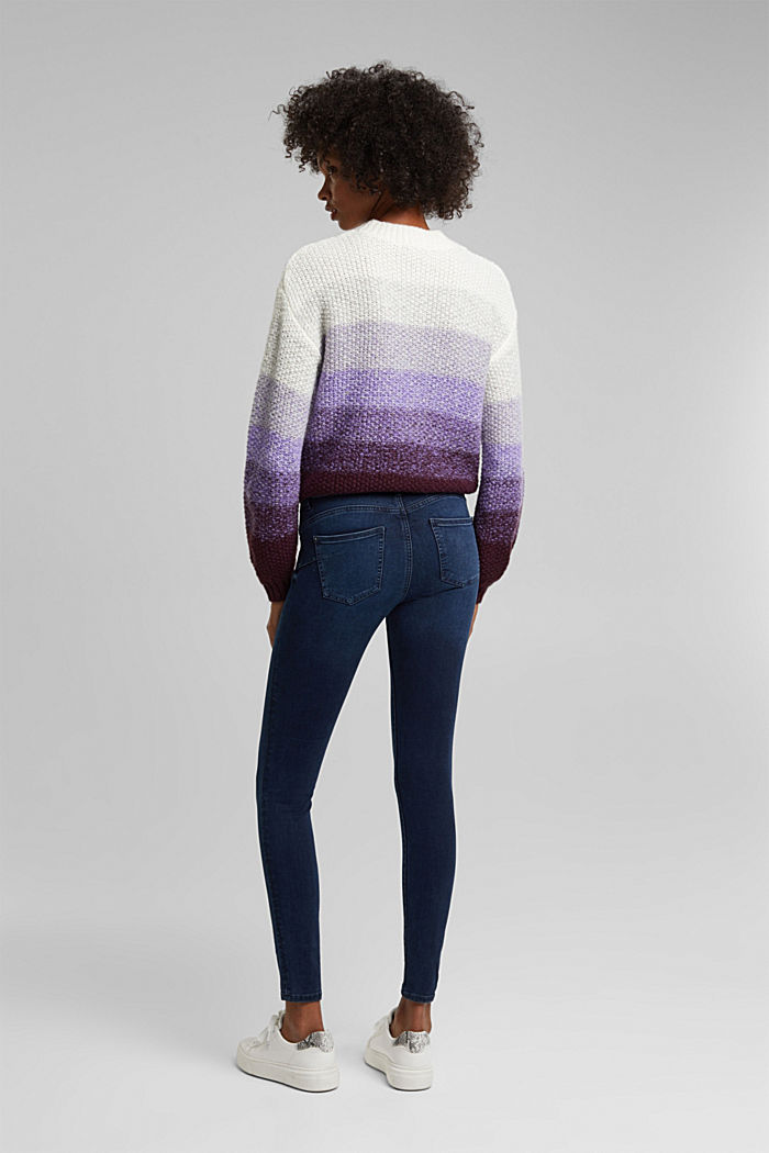 Stretch-Jeans mit Organic Cotton, BLUE BLACK, detail image number 3