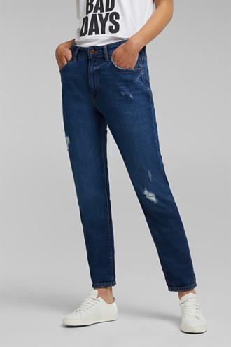 Boyfriend jeans with organic cotton