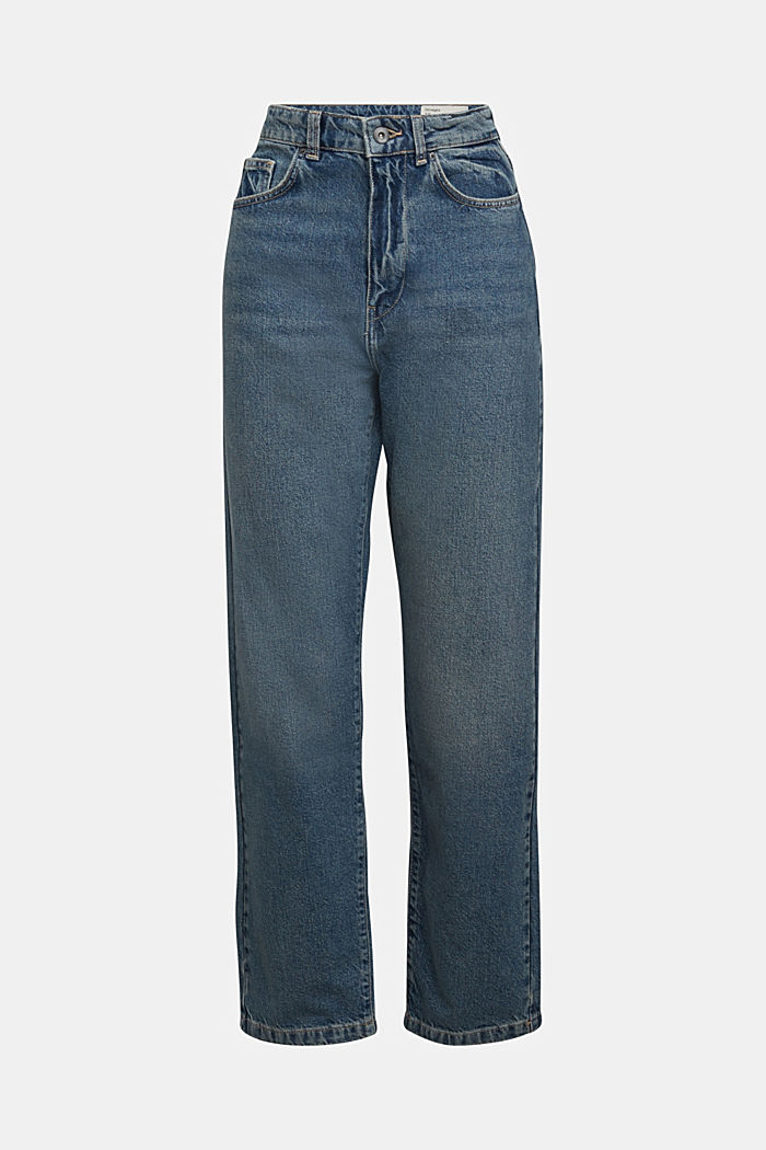 Straight jeans made of 100% cotton