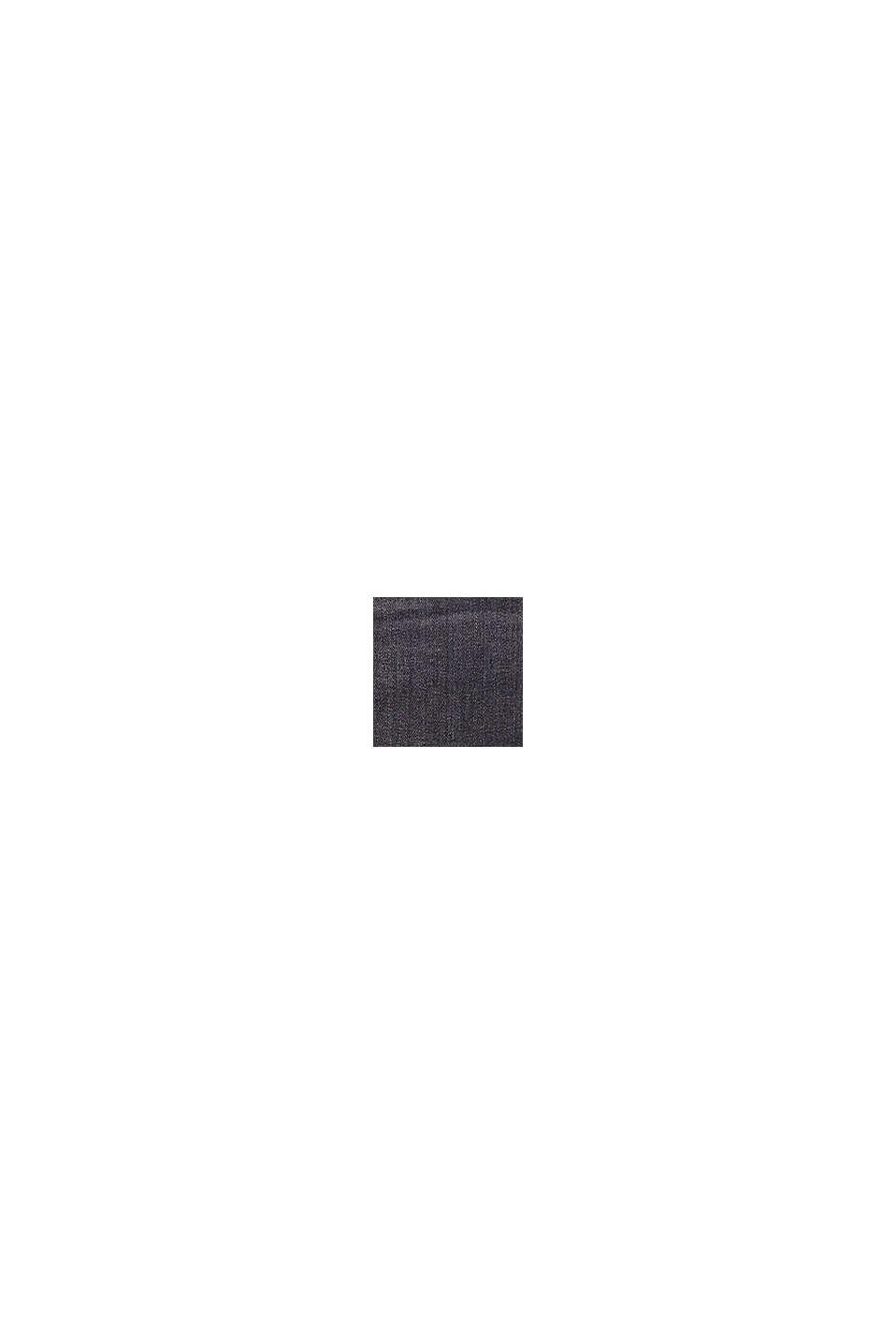 Jeans-Rock aus Organic Cotton, BLACK MEDIUM WASHED, swatch