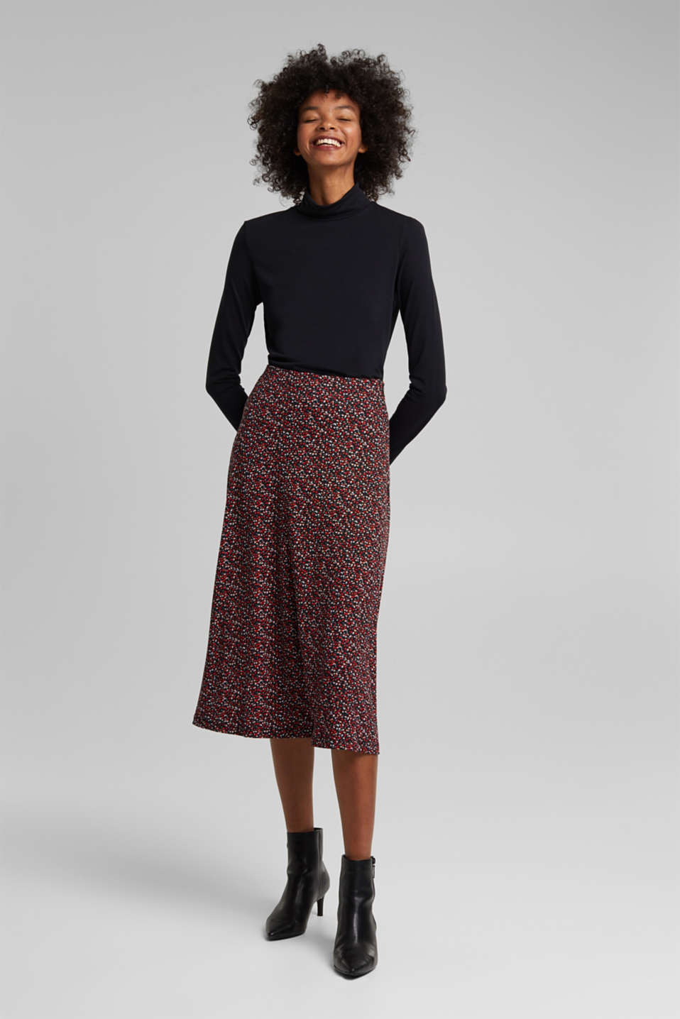 edc - Midi skirt made of LENZING™ ECOVERO™