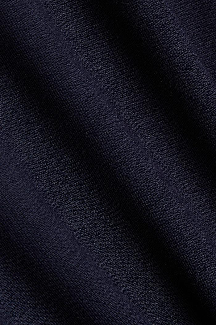 Midirok van jersey, NAVY, detail image number 4