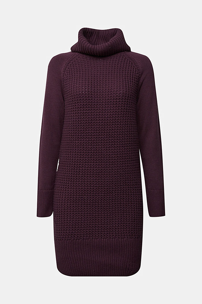 Knit dress made of blended cotton