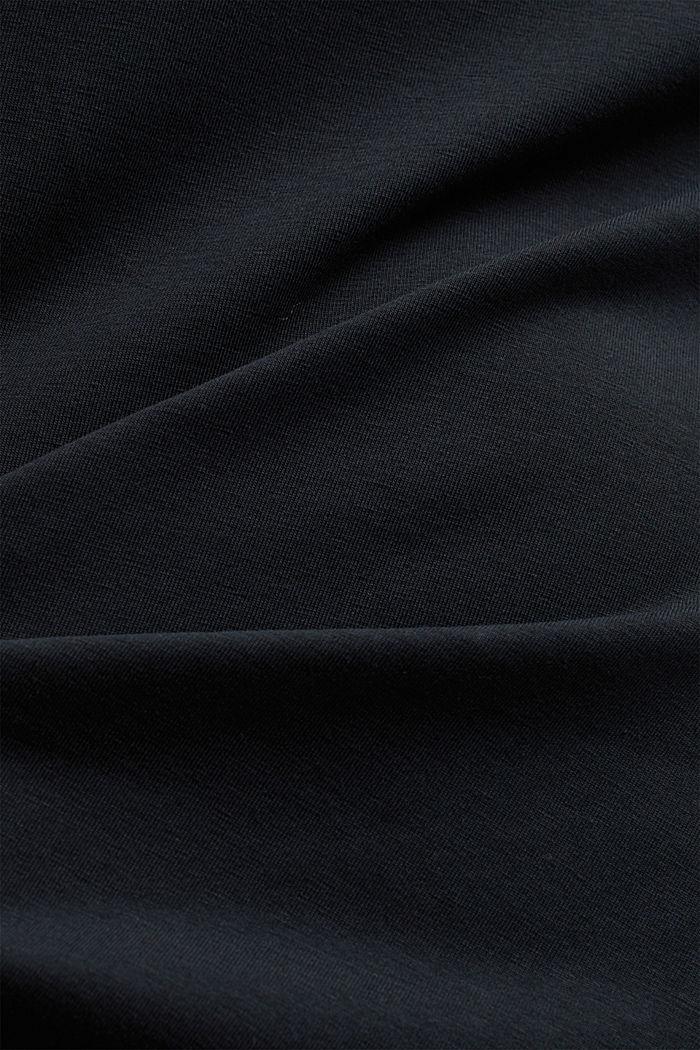 Jersey-Kleid mit Organic Cotton, BLACK, detail image number 3