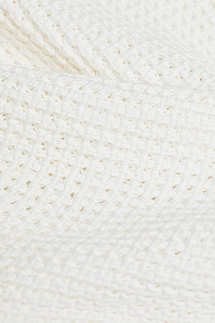 Jumper made of 100% organic cotton, OFF WHITE, detail image number 4