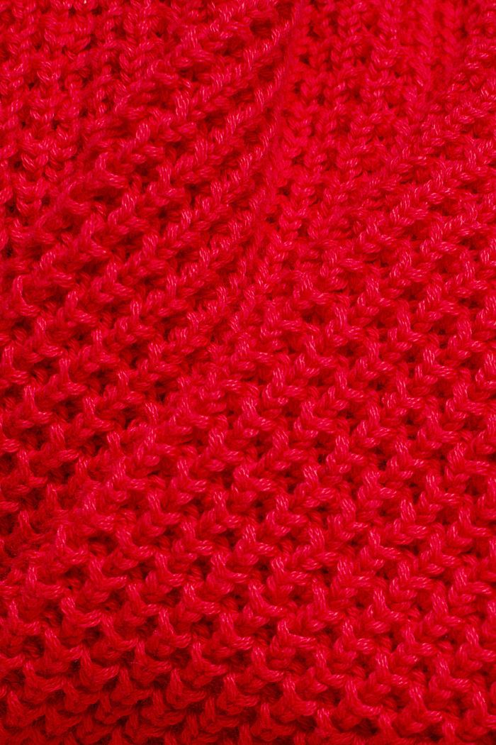 Jumper made of 100% organic cotton, RED, detail image number 4
