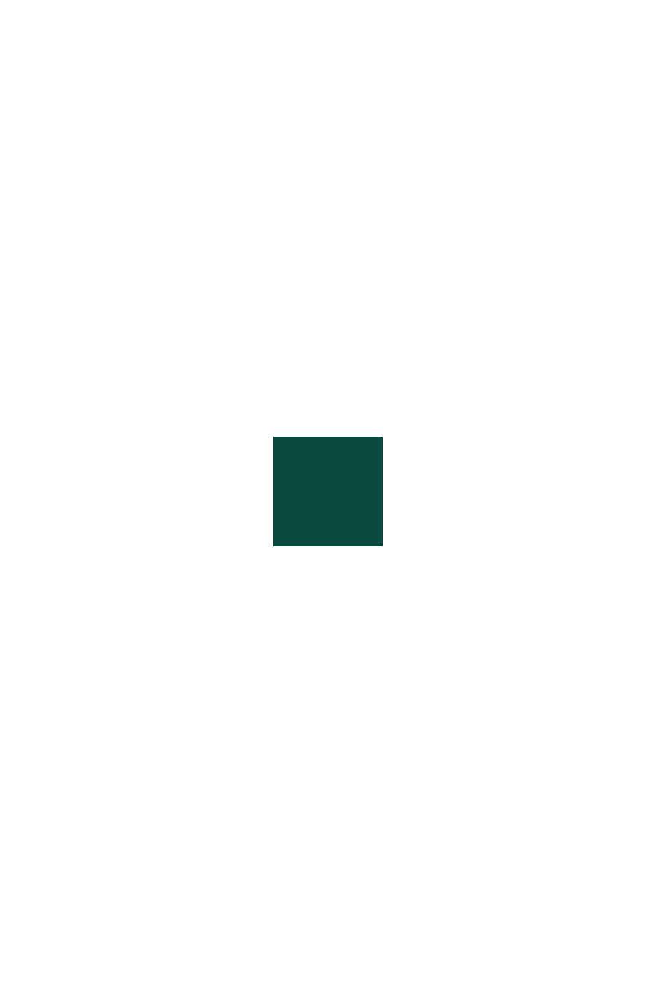 À teneur en laine: le pull-over en maille pointelle, DARK TEAL GREEN, swatch