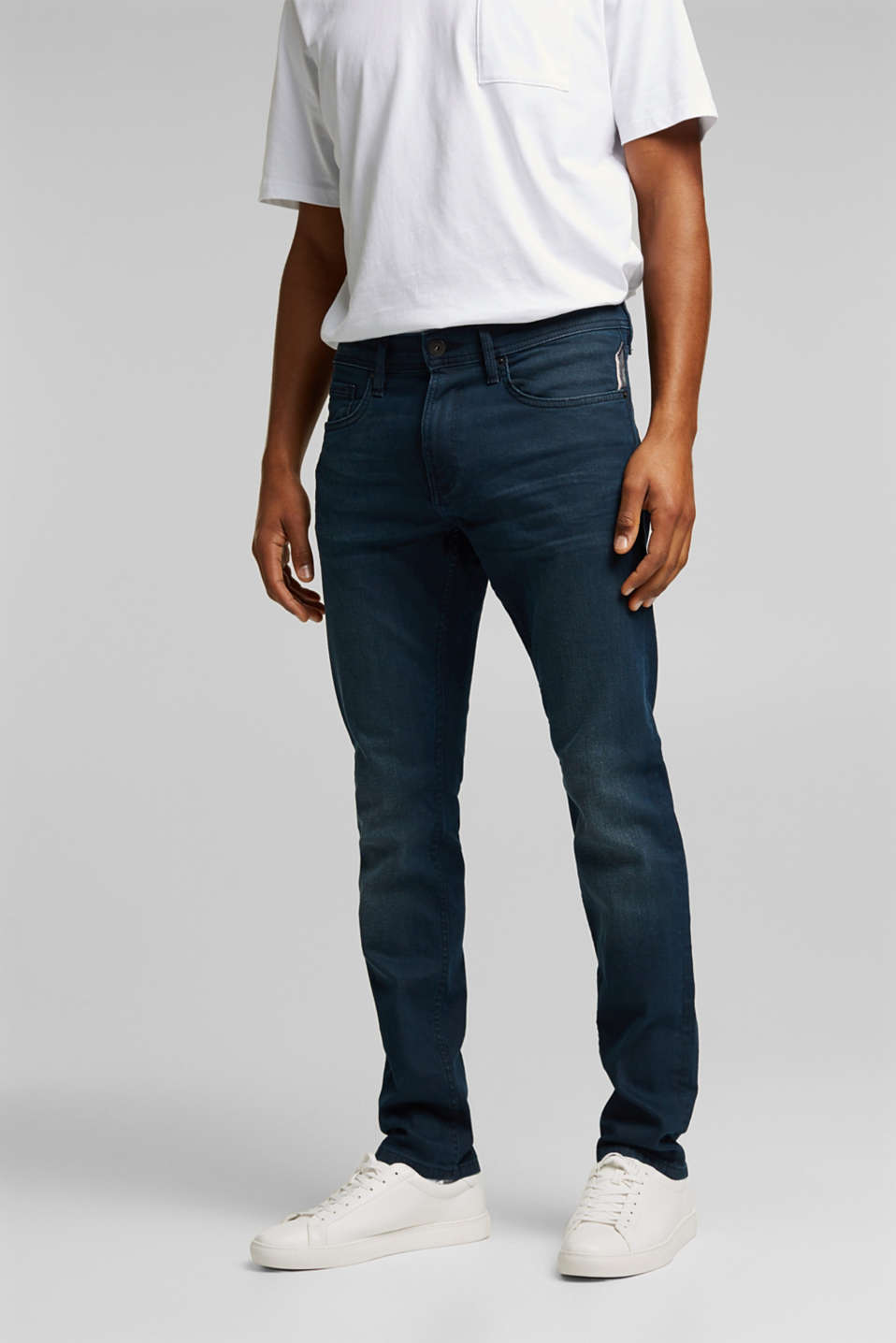edc - Organic Cotton-Jeans mit Stretch