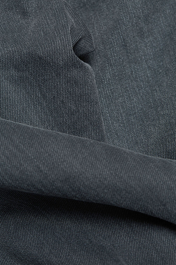 Stretch jeans containing organic cotton, GREY DARK WASHED, detail image number 5