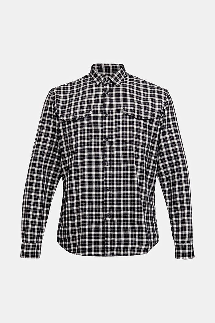 Kariertes Hemd aus 100% Organic Cotton