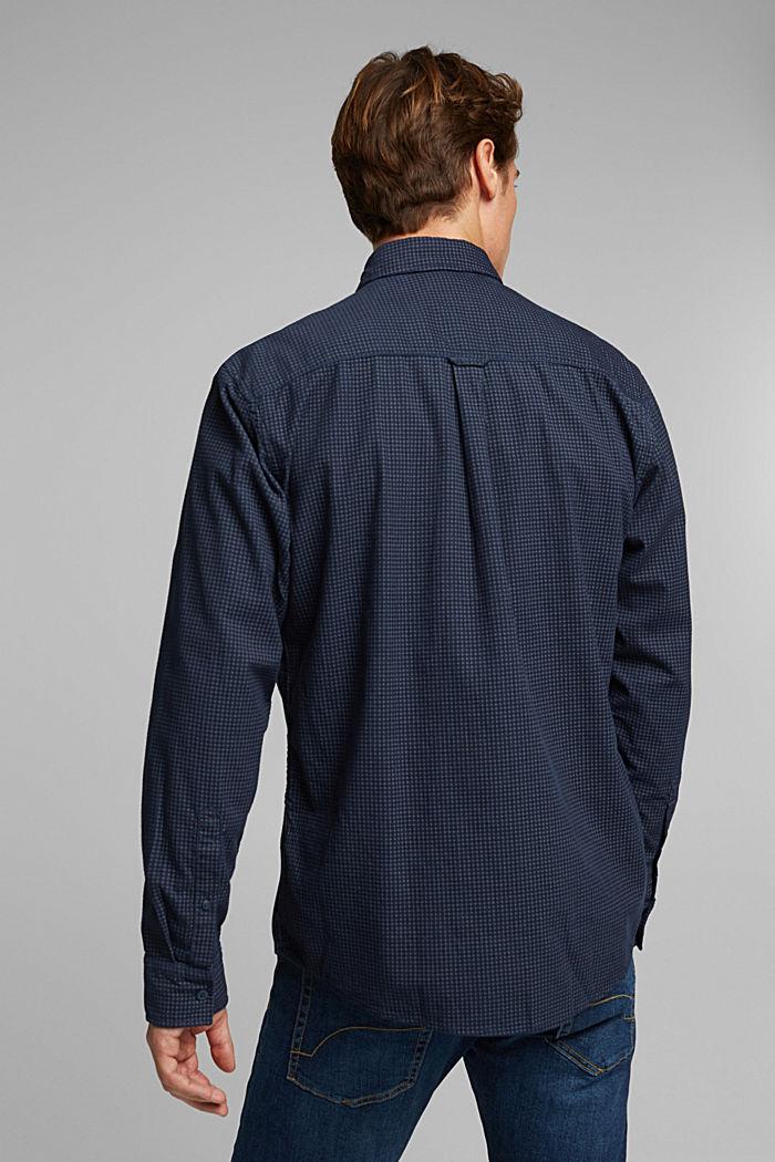 Cord-Hemd aus 100% Organic Cotton, NAVY, detail image number 3