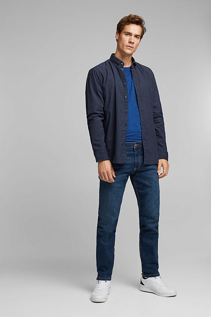 Cord-Hemd aus 100% Organic Cotton, NAVY, detail image number 1