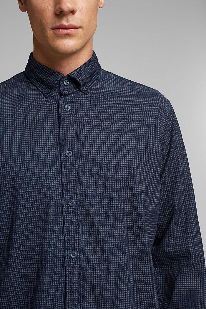 Cord-Hemd aus 100% Organic Cotton, NAVY, detail image number 2