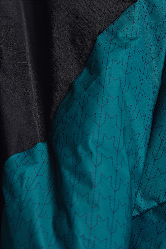 Recycled: padded quilted jacket, DARK TEAL GREEN, detail image number 5