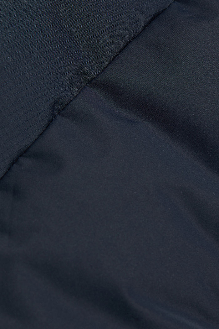 Recycled: padded quilted jacket, DARK BLUE, detail image number 4