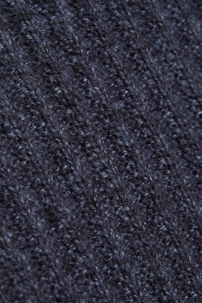 Jumper with organic cotton, NAVY, detail image number 4