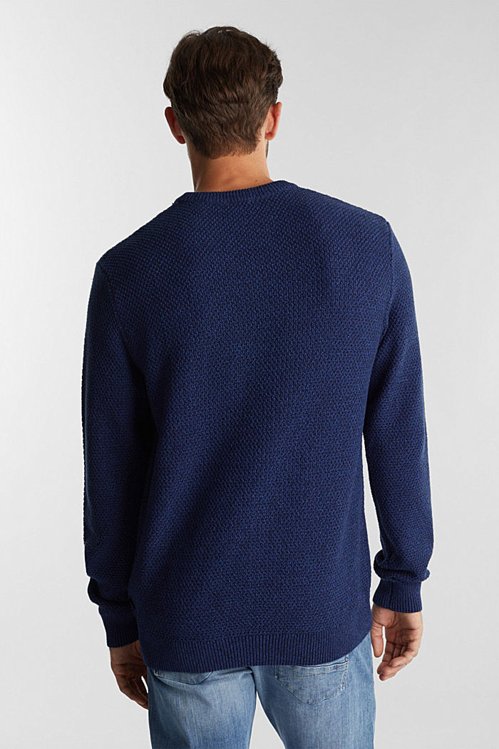 Jumper made of 100% organic cotton, BLUE, detail image number 3