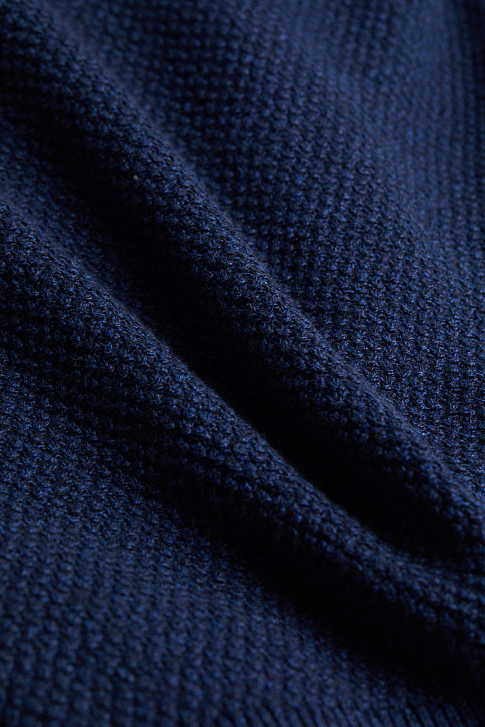 Jumper made of 100% organic cotton, BLUE, detail image number 4