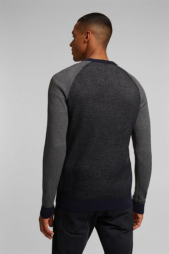 Pullover aus 100% Organic Cotton, BLACK, detail image number 3