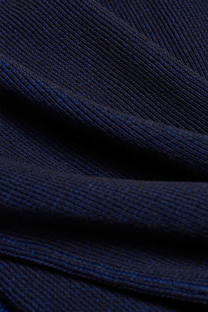 Pullover aus 100% Organic Cotton, NAVY, detail image number 4