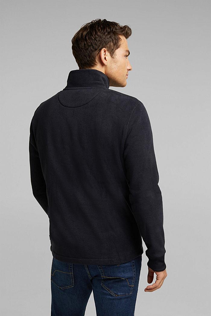 Fleece sweatshirt, BLACK, detail image number 3