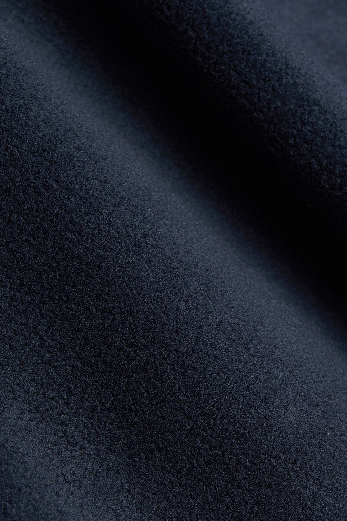 Fleece sweatshirt, DARK BLUE, detail image number 4