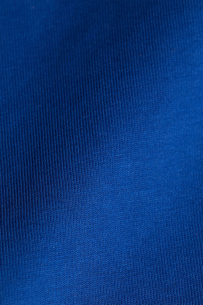 Long sleeve top made of 100% organic cotton, BLUE, detail image number 4